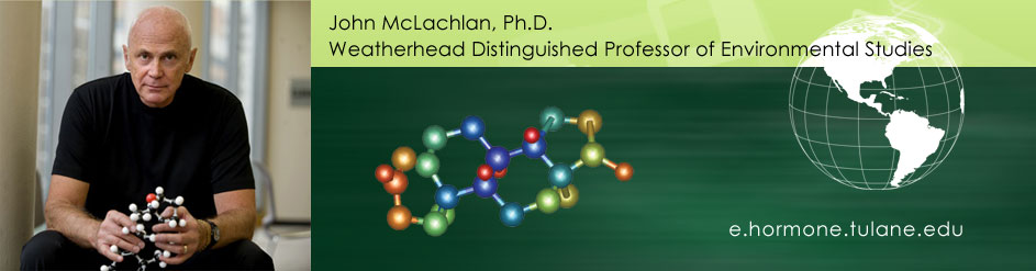 John McLachlan, Professor of Pharmacology