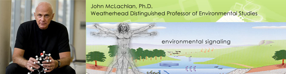 John McLachlan, Adjunct Professor of Ecology and Evolutionary Biology